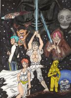 One Piece Wars by TheSteveYurko