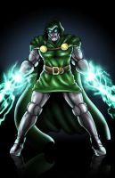 Dr. Doom by Foongatz