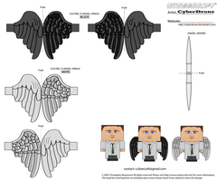 Cubee - Castiel 'Wings' by CyberDrone