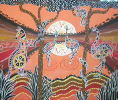 aboriginal art by sharkaholic