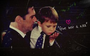 Hotch and son by Anthony258