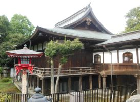 Ueno Park Temple by rlkitterman