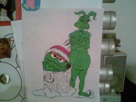 The Grinch and the Grouch by Will1885