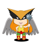 Hawkwomen for Scribblenauts contest by Spinalz