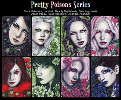 Pretty Poisons Series by ElvenstarArt