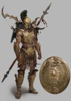 Amazon-warrior-detail34 by deathbow