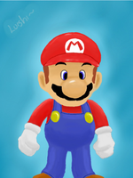 Mario (Colors 3D) by Luishi17