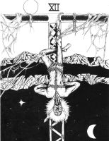 Tarot - The Hanged Man by bobveon
