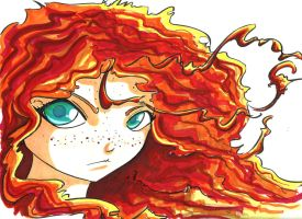 Merida by CrimsonWalker