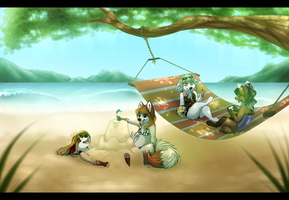 :CO:Sandcastles and Sunshine +video by BeautySnake