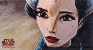 Clone Wars Padme Return by tdastick