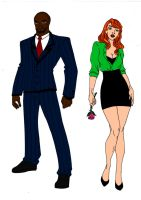 Batman: Year One-Two Face And Poison Ivy by Comicbookguy54321