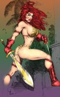 Red Sonja by jeaf7