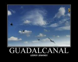 Dogfights Guadalcanal by Onikage108