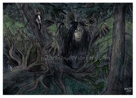 Forest troll by Zaronen
