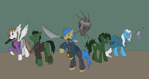 Fallout Equestria: Trigger to Tomorrow by ManiakMonkey