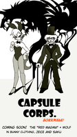 Capsule Corps.: Cover by Weasley-Detectives