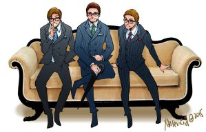 Galahad+Kingsman:the secret service by xanseviera