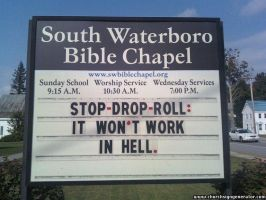 funny church sign by SesshysStalkur