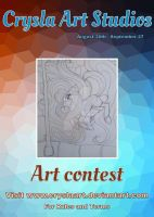 Aug/Sept ART CONTEST by CryslaArt