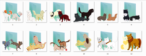 2p!nekotalia Folder Icons by Ginokami6