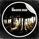 Walking Dead Sticker by crilleb50
