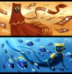 Journey and ABZU by Soltia
