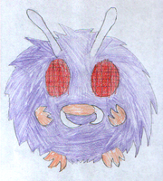 Day 1: Venonat by thecat1313