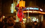 Fanny Pack Spider-Man NYC by paradoxchild