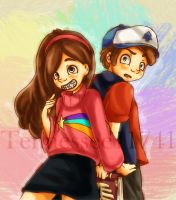 FOR THE GRAVITY FALLS WIN by Tennessee11741