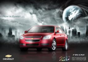 SHEVROLET Cruse Concept by illuphotomax