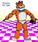 Terrance the Tiger by BennytheBeast