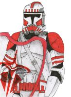 Clone riot trooper Coruscant Guard by Funtimes