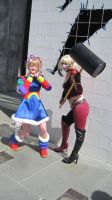 Looks like Harley is going to get Rainbow Brite! by RaindropCosplay