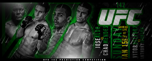 Ufc 142 PREDICTION COMPETITION BANNER by Mohamed-Fahmy