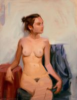 Seated Nude by robrey