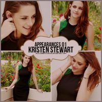 Appearances 01 Kristen Stewart by MissJanePattinson