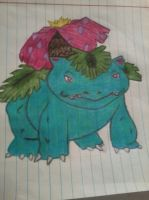 venusaur color by kisara232