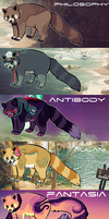 RED PANDA ADOPTS [CLOSED] by Surgeonn