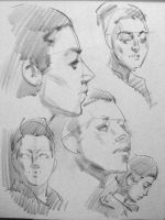 Five Minute Head Studies by arthurloftis