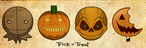 Trick 'R Treat Icons by Hauntophile