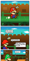 Paper Mario SS Comics: The Luigi Encounter by MushroomWorldDrawer