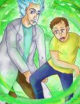 Rick and Morty by Avatoh