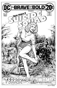 Swamp Thing #9 Cover re-imagining: Suicide Squad by dalgoda7