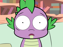 Traumatized Spike by TheMatrixman