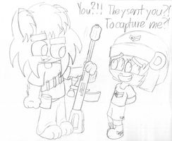 A Sergeant and a Comrade by KidsAndKittehs