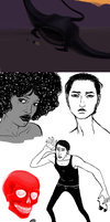 Sketchdump by Chell-Dunphy