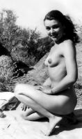 Outdoor Nude Late 1940's by NJDVINTAGE