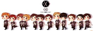 Run Run Exo Run! by sillyyellow