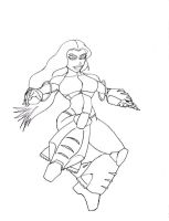 :: free sketch -1_jet dancer:: by dnbdjq45